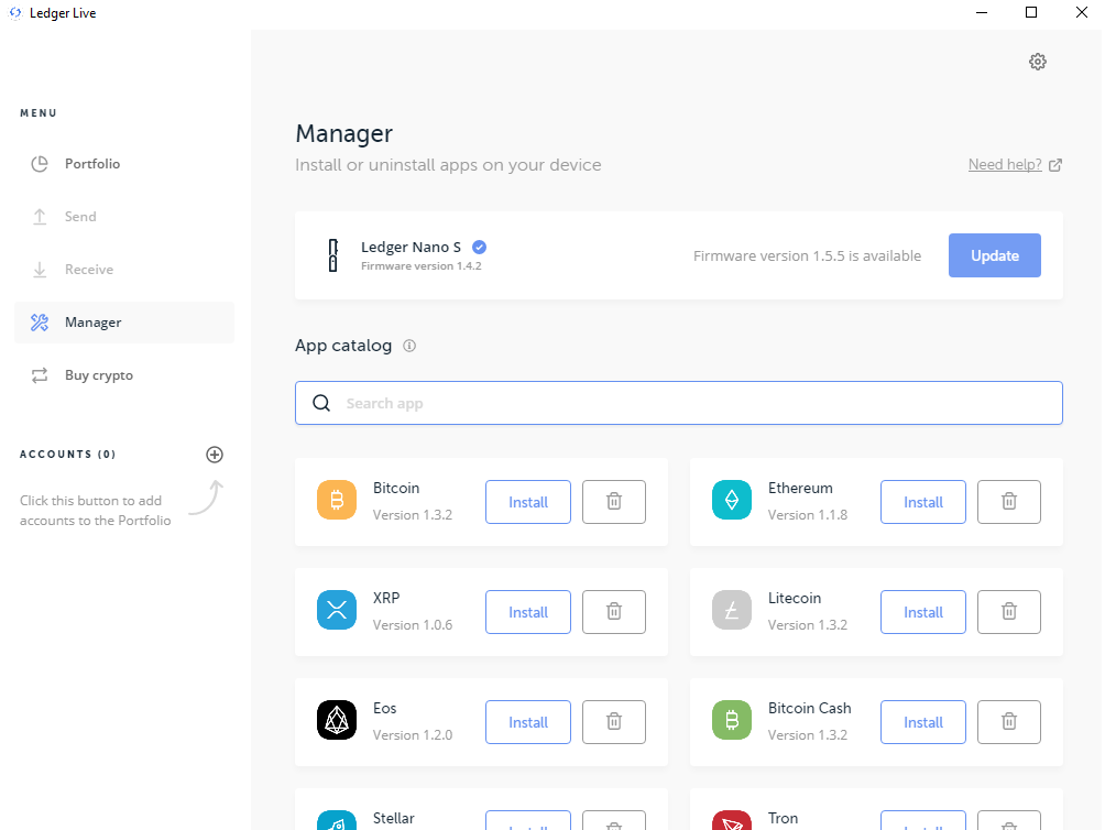How to Swap your Kin with a Ledger - NuFi io